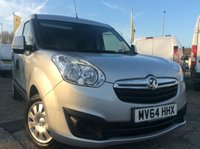 USED 2014 64 VAUXHALL COMBO VAN LWB 1.3 2300 L2H1 CDTI S/S SPORTIVE  90 BHP 1 OWNER FSH NEW MOT FREE 6 MONTH AA WARRANTY INCLUDING RECOVERY AND ASSIST NEW MOT SPARE KEY TWIN SIDE LOADING DOORS ELECTRIC WINDOWS RACKING REAR PARKING SENSORS PARROT BLUETOOTH