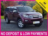 USED 2013 13 ISUZU D-MAX 2.5 TD EIGER DOUBLE CAB PICK UP HARDTOP CANOPY HARDTOP CANOPY CLIMATE CONTROL BLUETOOTH