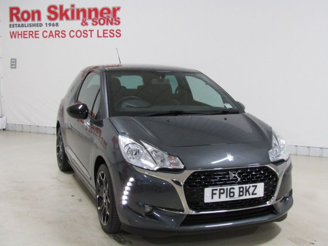 View our 2016 16 DS DS 3 1.6 BLUEHDI ELEGANCE S/S 3d 98 BHP