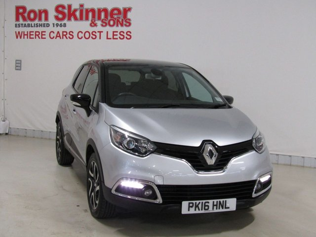 View our 2016 16 RENAULT CAPTUR 1.5 DYNAMIQUE S NAV DCI 5d 90 BHP with Black Roof