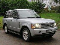 2007 LAND ROVER RANGE ROVER 3.6 TDV8 VOGUE 5d AUTO 272 BHP £9490.00