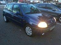 1998 RENAULT CLIO 1.6 RXE 5d AUTO 89 BHP £1199.00