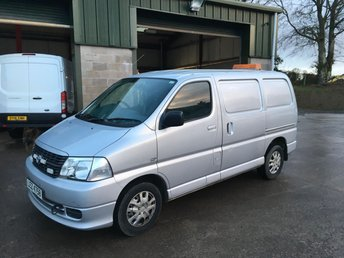 cb7f4f8d701a87 Used Toyota HI-Ace vans in Dungannon from LMC Trade Sales