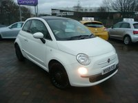 2010 FIAT 500 1.2 LOUNGE 3d 69 BHP £SOLD
