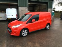 2015 FORD TRANSIT CONNECT 1.6 200 LIMITED swb 114 BHP £7500.00