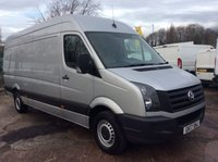 2017 VOLKSWAGEN CRAFTER LWB 2.0 CR35 TDI L BMT 138 BHP 1 OWNER FSH AIR CON £17000.00