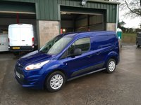 2016 FORD TRANSIT CONNECT 1.6 200 TREND Swb l/r  95 BHP £7250.00