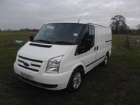 2013 FORD TRANSIT 2.2 260 LIMITED LR 5d 124 BHP short wheel base, low roof £6999.00