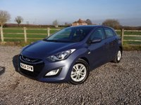 USED 2014 64 HYUNDAI I30 1.6 ACTIVE CRDI 5d AUTO 109 BHP ONLY 1 OWNER FROM NEW + AUTOMATIC