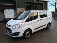 2014 FORD TRANSIT CUSTOM 2.2 290 TREND swb LR DCB 1d 99 BHP £10250.00