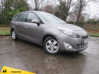 USED 2011 11 RENAULT SCENIC 1.5 DYNAMIQUE TOMTOM DCI FAP 5d 109 BHP CAMBELT AND WATER PUMP REPLACED 3/17