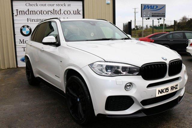 2015 15 BMW X5 3.0 XDRIVE40D M SPORT  AUTO 309 BHP (Finance & Warranty)