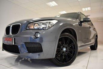 2014 BMW X1 XDRIVE20D 2.0 M SPORT 5 DOOR £16250.00