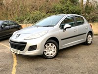 2010 PEUGEOT 207 1.6 HDI S 5 DOOR ONLY 63,000 MILES, BLUETOOTH, 1 FORMER KEEPER  £2990.00