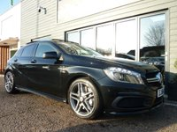 USED 2014 64 MERCEDES-BENZ A CLASS 2.0 A45 AMG 4MATIC 5d AUTO 360 BHP