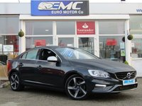 USED 2015 65 VOLVO S60 2.0 D4 R-DESIGN NAV 4d 188 BHP STUNNING, 1 OWNER, £20 TAX, VOLVO S60, 2.0 D4 R-DESIGN, NAV. Finished in Metalic Grey with contrasting HEATED LEATHER interior. This dynamic family saloon offers style, class and with its tdi D4 2.0 offers performance and economy. Together with its £20 a year Road Tax, 188 BHP and 70+ Average MPG its a must buy family car. Features also include, SAT NAV, Cruise, Heated Leather Seats, Climate, Alloys, Park Sensors and B/Tooth.
