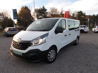 2018 RENAULT TRAFIC 1.6 LL29 BUSINESS ENERGY DCI 5d 95 BHP £14995.00