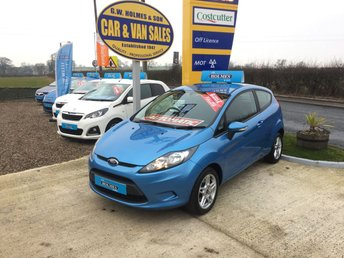 2010 FORD FIESTA  EDGE 1.4 3 DOOR **AUTOMATIC**2 LADY OWNERS**ONLY 34,000** £4995.00