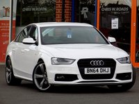 USED 2014 64 AUDI A4 2.0 TDI S LINE BLACK EDITION 4dr (174) ** Cruise + DAB + Bang + Olufsen **