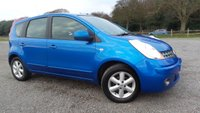 2008 NISSAN NOTE 1.4 ACENTA 5d 88 BHP £2495.00