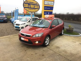 2008 FORD FOCUS ZETEC 1.6 3 DOOR **2 OWNERS**A GENUINE 30,000 MILES** £3495.00