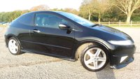 2009 HONDA CIVIC 1.8 I-VTEC TYPE S GT I-SHIFT 3d AUTO 138 BHP £3750.00