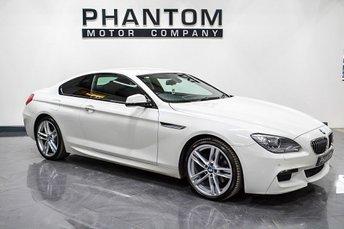 2012 BMW 6 SERIES 3.0 640D M SPORT 2d AUTO 309 BHP £18990.00