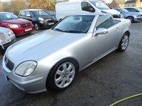 2002 MERCEDES-BENZ SLK 2.0 SLK200 KOMPRESSOR 2d AUTO 163 BHP £2995.00