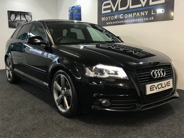 2012 12 AUDI A3 2.0 SPORTBACK TDI S LINE SPECIAL EDITION 5d 138 BHP