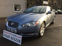 USED 2008 58 JAGUAR XF 2.7 LUXURY V6 4d AUTO 204 BHP *STUNNING**FSH**CAMBELT KIT@89754**LEATHER**SAT NAV*