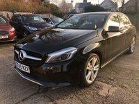 2015 MERCEDES-BENZ A CLASS 1.5 A 180 D SPORT PREMIUM 5DR AUTO  £10900.00