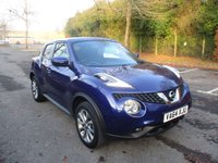 USED 2015 64 NISSAN JUKE 1.5 TEKNA DCI 5d 110 BHP ONE OWNER DIRECT FROM NISSAN UK !!