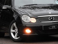 USED 2004 54 MERCEDES-BENZ C CLASS 1.8 C180 KOMPRESSOR SE SPORTS 3d AUTO 141 BHP 1 OWNER ONLY 37K FROM NEW VGC