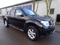 USED 2008 58 NISSAN NAVARA 2.5 AVENTURA DCI 4X4 SWB SHR D/C 1d 169 BHP LEATHER SAT NAV PART EXCHANGE AVAILABLE / ALL CARDS / FINANCE AVAILABLE