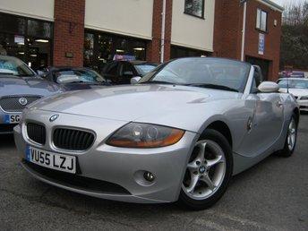 2005 BMW Z4 2.0 Z4 SE ROADSTER 2d 148 BHP £3995.00