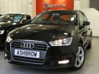 USED 2015 65 AUDI A1 1.6 TDI SPORT 3d 115 S/S DAB RADIO, BLUETOOTH PHONE & MUSIC STREAMING, AUDI MUSIC INTERFACE (AMI), MANUAL GEARBOX, START STOP TECHNOLOGY, FRONT FOG LIGHTS, 16 INCH 5 SPOKE ALLOYS, GREY TORNADO CLOTH INTERIOR, SPORT SEATS, LEATHER MULTIFUNCTION STEERING WHEEL, AIR CONDITIONING, CD & SD CARD READER, TYRE PRESSURE MONITORING SYSTEM, ELECTRIC WINDOWS, ELECTRIC HEATED DOOR MIRRORS, ISO FIX, FOLDING REAR SEATS, AIRBAGS WITH PASSENGER OFF FUNCTION.  1 OWNER FROM NEW, FULL SERVICE HISTORY, £0 ROAD TAX (92 G/KM), VAT QUALIFYING