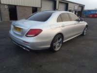 USED 2016 66 MERCEDES-BENZ E CLASS 2.0 E 220 D AMG LINE PREMIUM 4d AUTO 192 BHP SAT NAV LEATHER AUTO PARKING CAMERA PARK ASSIST