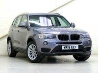 2016 BMW X3 2.0 XDRIVE20D SE 5d AUTO 188 BHP £18616.00