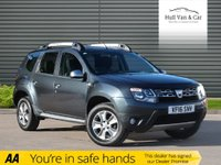 USED 2016 16 DACIA DUSTER 1.5 LAUREATE DCI 5d 109 BHP BLUETOOTH,A/C,£30 TAX,BIG MPG