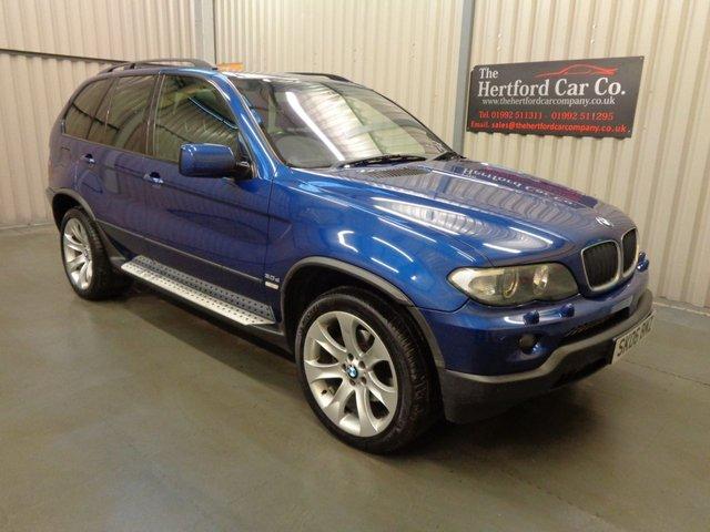 2006 06 BMW X5 3.0 d LE MANS BLUE SPORT EDITION 5d AUTO 215 BHP