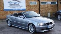 2004 BMW 3 SERIES 2.2 320CI SPORT 2d AUTO 168 BHP £3984.00
