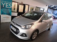USED 2015 15 HYUNDAI I10 1.2 SE 5d 86 BHP Two owners, service history, supplied with a service and 6 months warranty. Finished in Sleek Silver with Black cloth seats.
