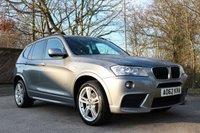 2012 BMW X3 2.0 XDRIVE20D M SPORT 5d AUTO 181 BHP £14295.00