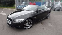 USED 2013 63 BMW 3 SERIES 2.0 320D M SPORT 2d AUTO 181 BHP STUNNING LOW MILEAGE AUTOMATIC CONVERTIBLE
