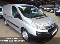 USED 2014 64 CITROEN DISPATCH 2.0 1200 L2H1 ENTERPRISE HDI 130 BHP LWB VAN-ONE OWNER WITH FULL SERVICE HISTORY