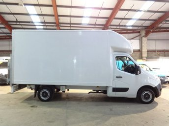 2016 RENAULT MASTER 2.3 LL35 BUSINESS DCI 125 BHP LWB LUTON VAN WITH TAIL LIFT £13995.00