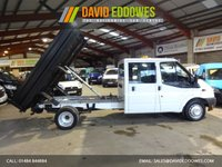 """USED 2014 64 FORD TRANSIT 2.2 350 DRW CREW CAB / DOUBLE CAB TIPPER LWB VAN  """"YOU'RE IN SAFE HANDS"""" - AA DEALER PROMISE"""