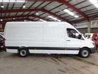 """USED 2016 16 MERCEDES-BENZ SPRINTER 2.1 313 CDI LWB HIGH ROOF VAN 129BHP-ONE OWNER """"YOU'RE IN SAFE HANDS"""" - AA DEALER PROMISE"""