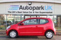 USED 2012 12 VOLKSWAGEN UP 1.0 MOVE UP 3d 59 BHP LOW DEPOSIT OR NO DEPOSIT FINANCE AVAILABLE