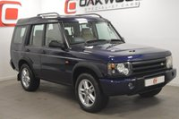 USED 2004 04 LAND ROVER DISCOVERY 2 2.5 LANDMARK TD5 [7 SEATS] 5d AUTO 136 BHP VERY LOW MILES + SERVICE HISTORY + 7 SEATS + LEATHER